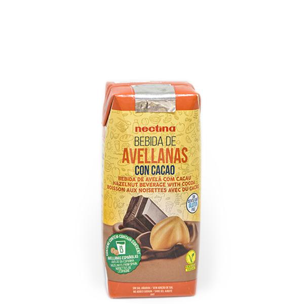 Imagen de bebida de avellanas con cacao