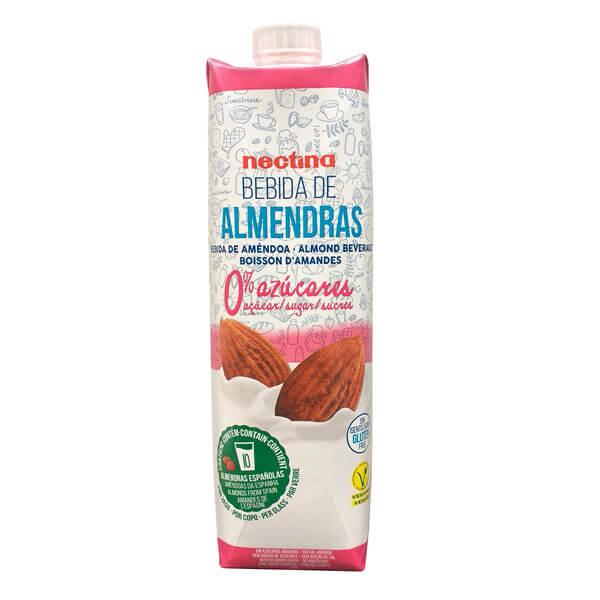 Imagen de leche de almendras sin azúcar